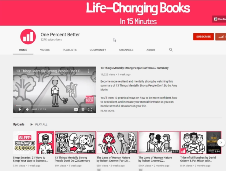 ONE PERFECT BETTER YOUTUBE How to start a YouTube channel successful without showing your face