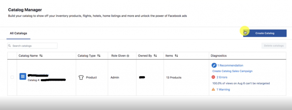 PHOTO OF View catalog Area: FACEBOOK ADS MARKETING