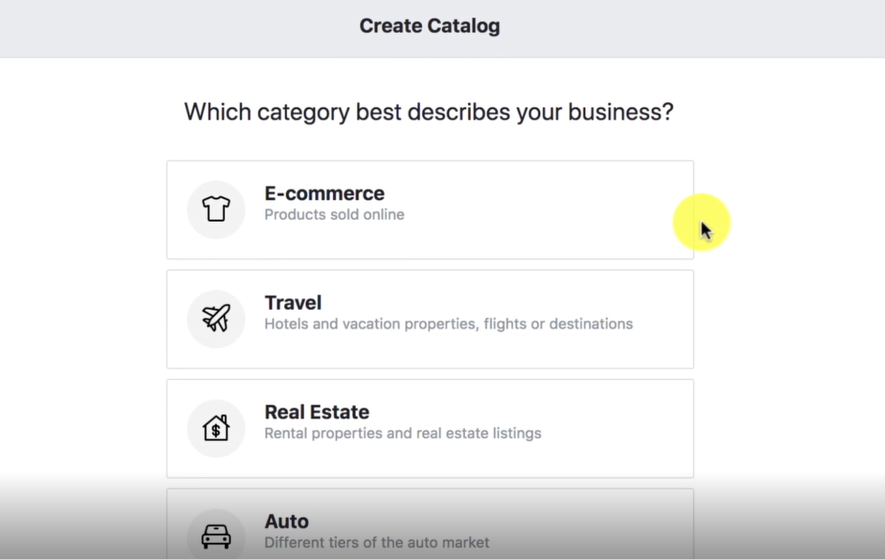 ADD PRODUCTS TO CATALOG- Facebook Ads Marketing