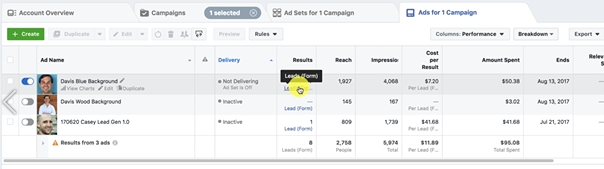 PHOTO OF DOWNLOADING THE LEADS: FACEBOOK ADS MARKETING BLUEPRINT COURSE