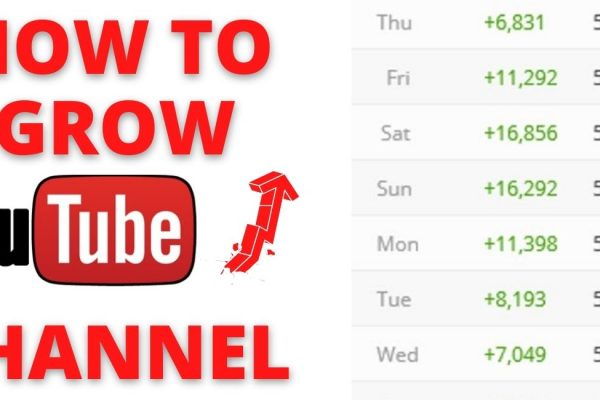 HOW TO GROW YOUTUBE CHANNEL