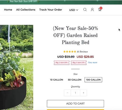 COMPETITOR PAGE FOR RAISED GARDEN PLANT BED: BEST TRENDING PRODUCTS TO SELL