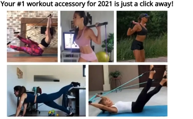 PHOTO OF WOMEN IN PILATES BAR PRODUCT PAGE