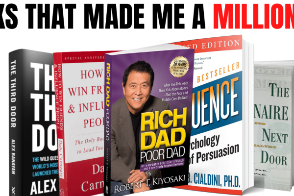 5 Best Books that made me Millionaire   Best Success Books to read for Students and Teenagers