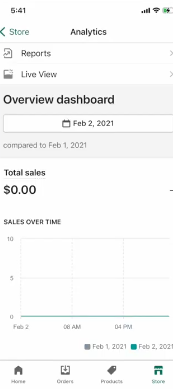 PHOTO OF ANALYSTICS OF SHOPIFY STORE WITH ZERO SALES: How to Start Dropshipping for free on Shopify with No Money