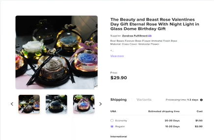 PHOTO OF BEAUTY ROSE GIFT: How to Start Dropshipping for free on Shopify with No Money