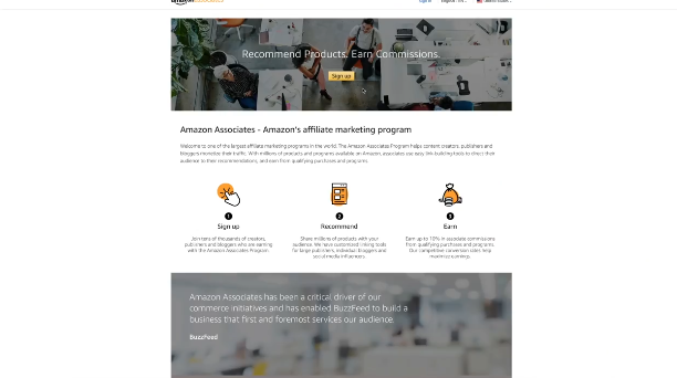 PHOTO OF AMAZON AFFILIATE MARKETPLACE: How to start Affiliate Marketing and Make Money for Beginners