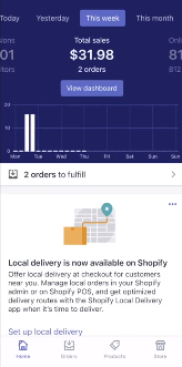 Is Dropshipping Profitable: PHOTO OF 1st WEEK PRODUCT REVENUE