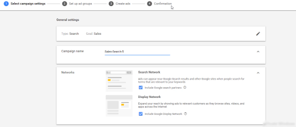 GOOGLE ADS FREE COURSE TUTORIAL: PHOTO OF GENERAL SETTINGS IN SET UP AD GROUPS