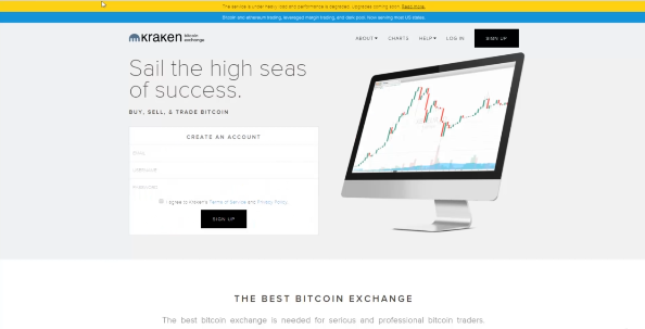 PHOTO OF KRAKEN: LEADING BITCOIN WALLET AND CRYPTO TRADING PLATFORM BUSINESS BITCOIN WALLET