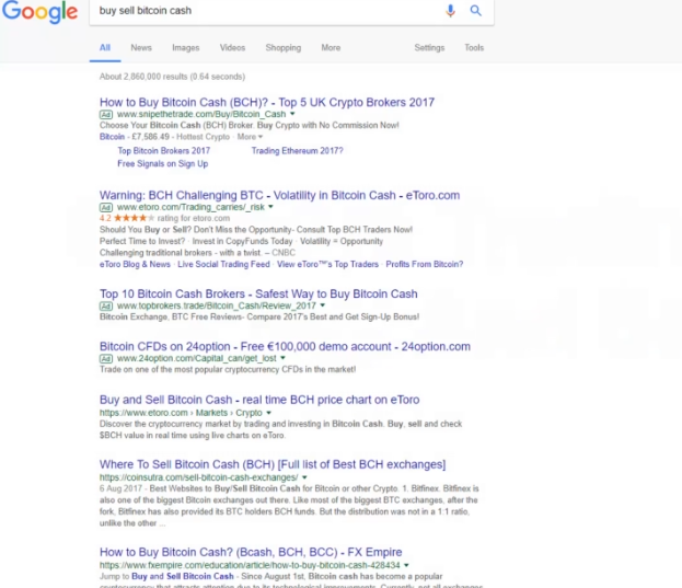 PHOTO OF GOOGLE SEARCH OF CRYPTO TRADING PLATFORMS: BITCOIN WALLETS  TO START A BUSINESS WITH BITCOIN