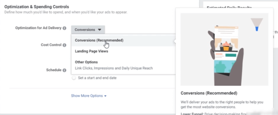 PHOTO OF OPTIMIZATION FOR AD DELIVERY IN FACEBOOK LEAD GENERATION TECHNIQUES