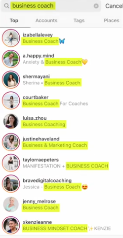PHOTO OF NAME SEARCH ON INSTAGRAM FOR INSTAGRAM BIO FOR BOYS BUSINESS GIRLS
